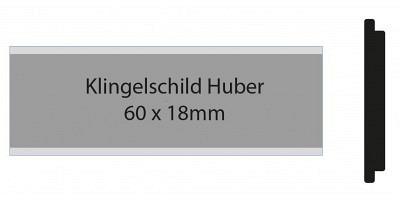 Huber Klingelschild